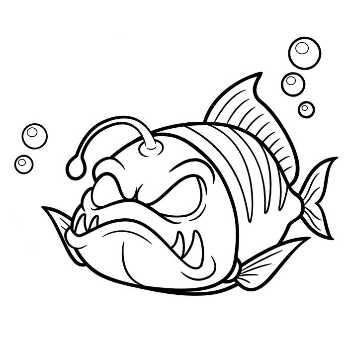 coloriage de poisson gratuit a imprimer et colorier