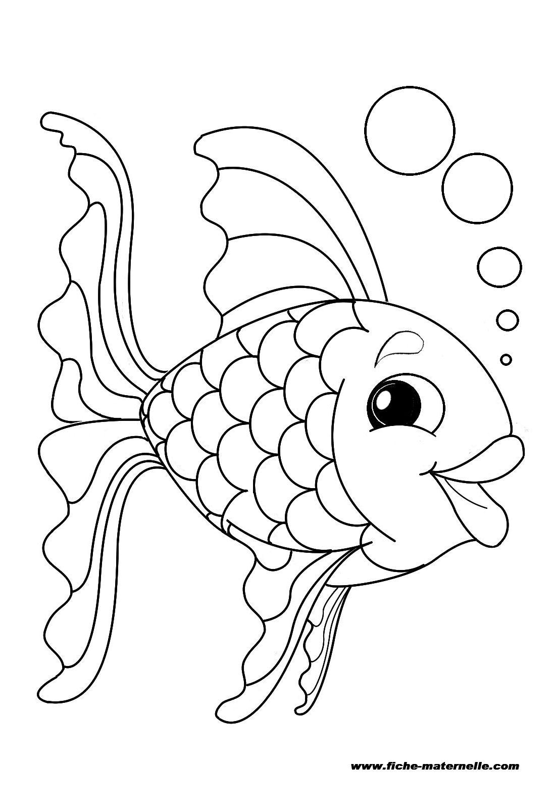 Top 106 dessins de coloriage poisson à imprimer sur LaGuerche.com  AH01