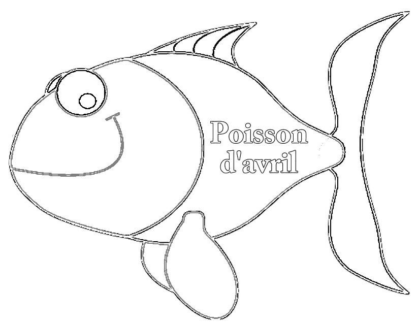 S lection de coloriage poisson d 39 avril imprimer sur page 2 - Poisson d avril dessin imprimer ...