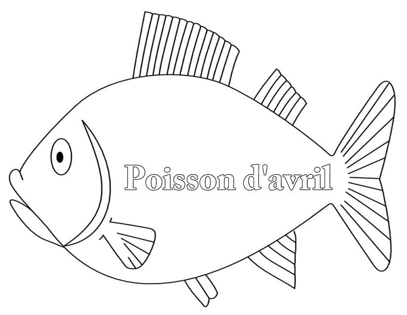 S lection de coloriage poisson d 39 avril imprimer sur page 2 - Poisson a imprimer gratuitement ...