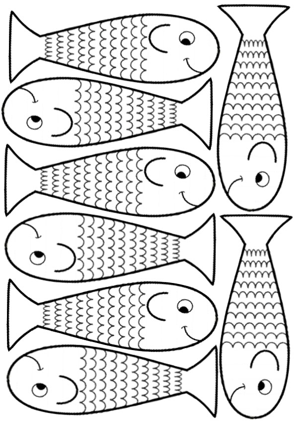 S lection de coloriage poisson d 39 avril imprimer sur page 2 - Dessin poisson d avril rigolo ...