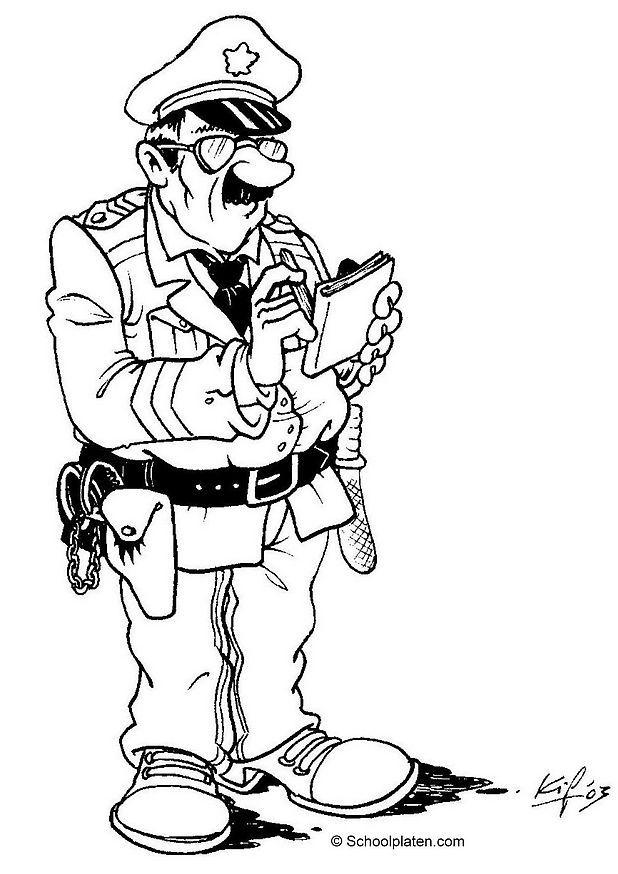 S lection de dessins de coloriage police imprimer sur page 1 - Coloriage a imprimer police ...
