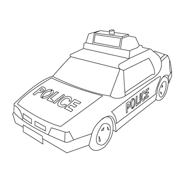 dessin 14678 coloriage de police imprimer et colorier