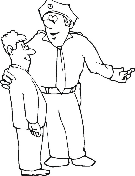 police road block coloring pages - photo#17