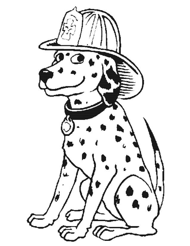 Sélection de dessins de coloriage pompier à imprimer sur ...