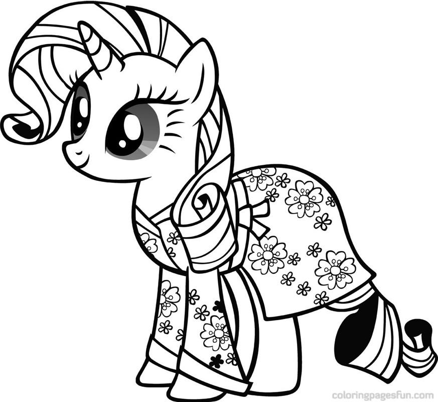 My Little Pony Monster High Coloring Pages : Dessins de coloriage poney à imprimer sur laguerche