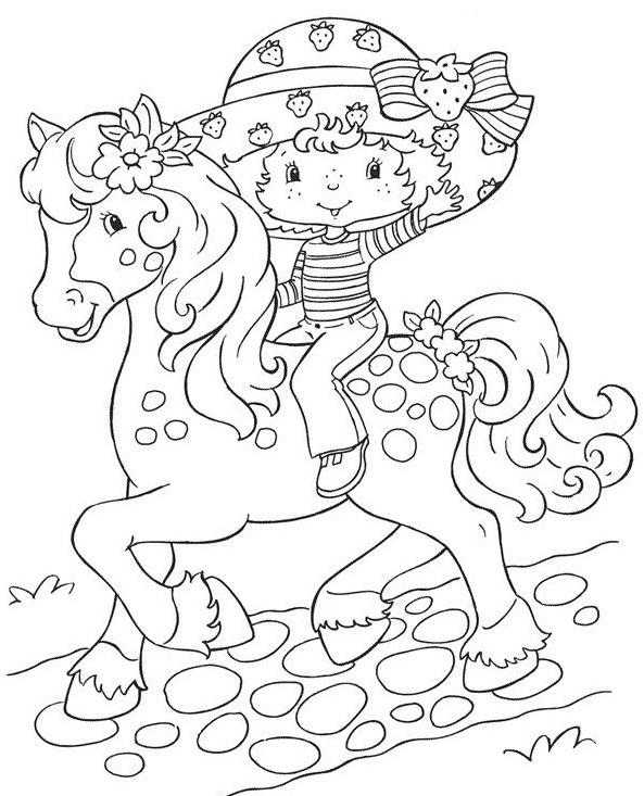 149 dessins de coloriage poney imprimer sur page 8 - Poney coloriage ...