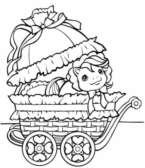 149 dessins de coloriage poney imprimer sur page 9 - Coloriage petit poney ...