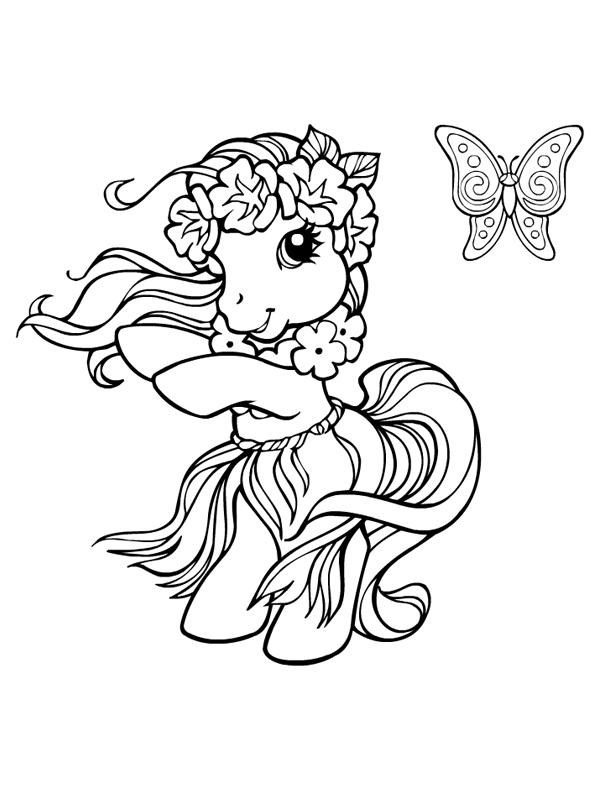Coloriage Fille Poney.149 Dessins De Coloriage Poney A Imprimer Sur Laguerche Com Page 12