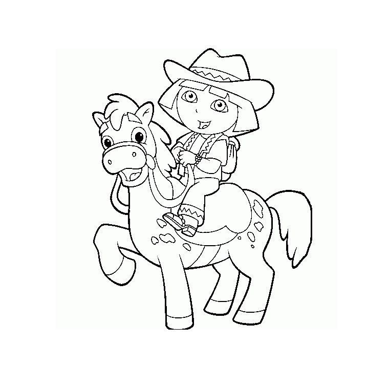 149 dessins de coloriage poney imprimer sur laguerche - Coloriage marron ...