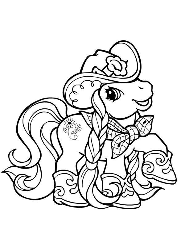 149 dessins de coloriage poney imprimer sur page 15 - Poney coloriage ...