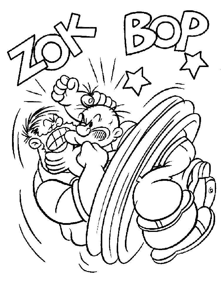 labels: dessins à colorier , popeye coloriage