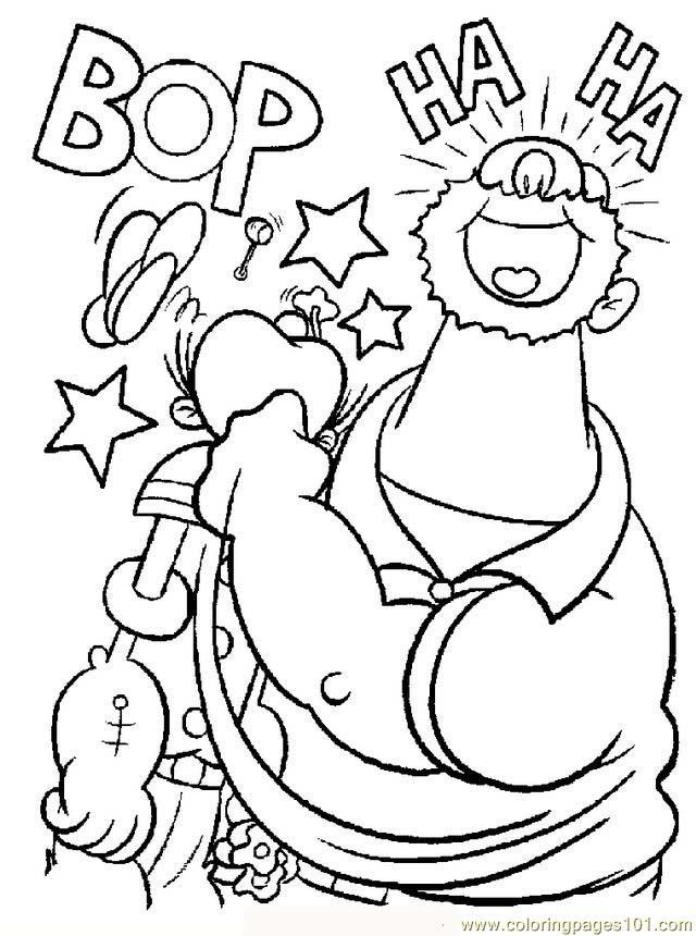 gratuit à imprimer dessin à colorier popeye