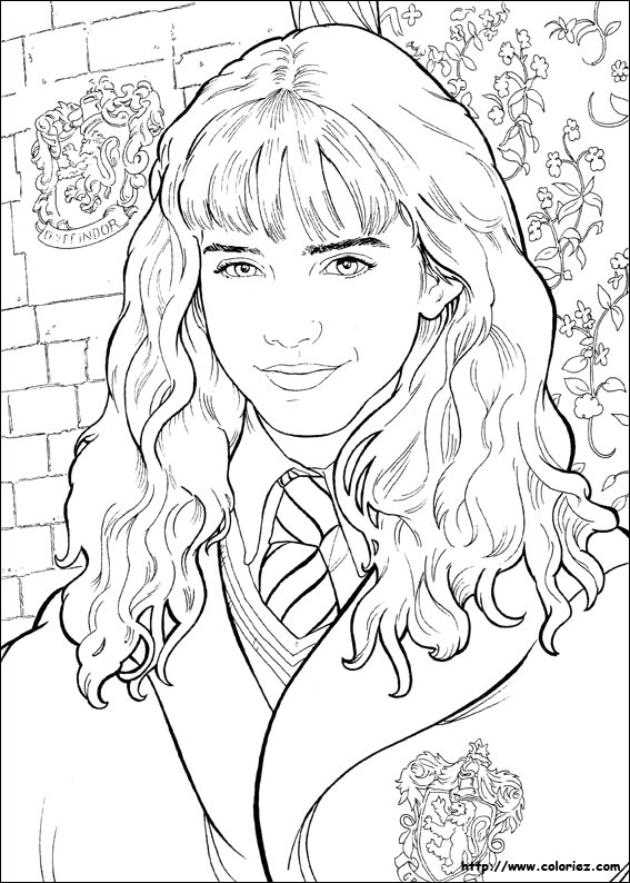 Extrêmement 35 dessins de coloriage portrait à imprimer sur LaGuerche.com - Page 1 XF22