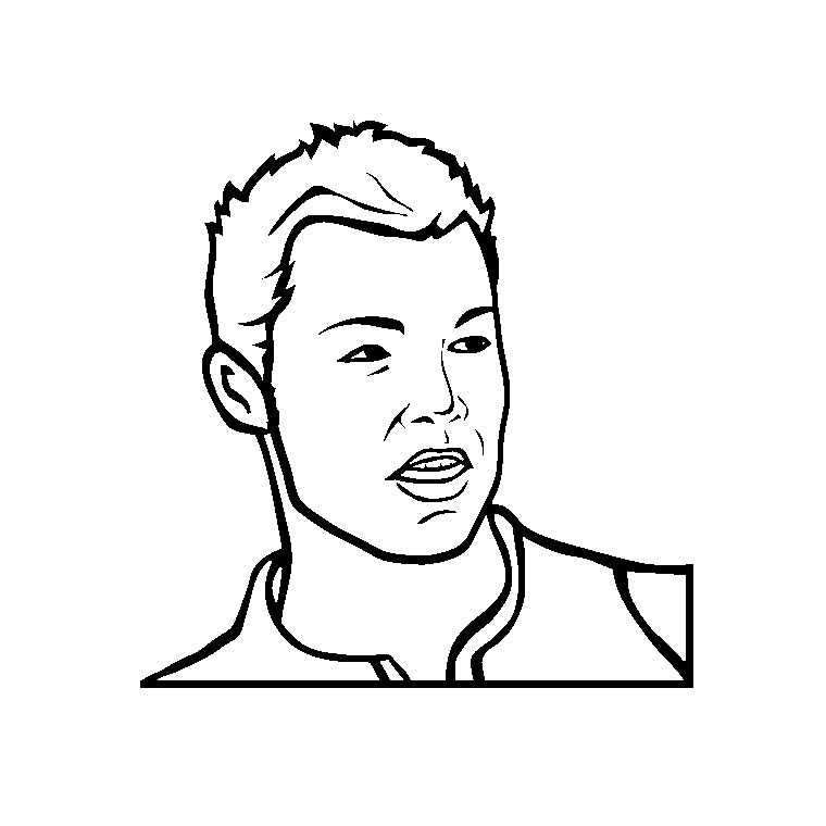 Extrêmement 35 dessins de coloriage portrait à imprimer sur LaGuerche.com - Page 2 XF22