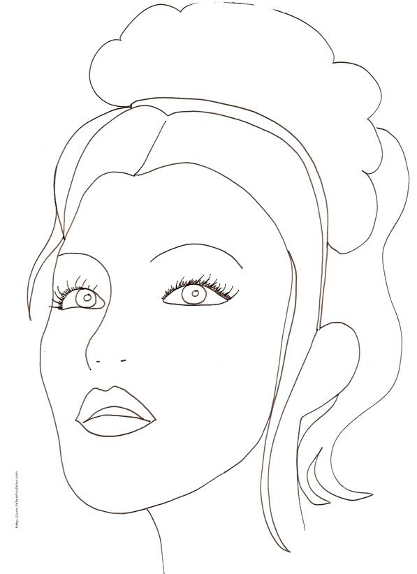 35 Dessins De Coloriage Portrait A Imprimer Sur Laguerche Com Page 3