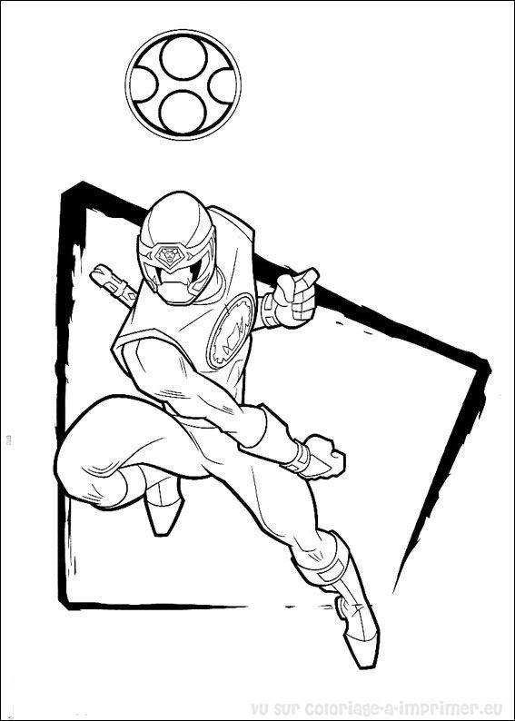 coloriage power ranger coloriage de coloriage power