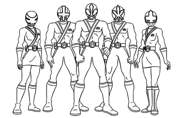 power rangers megaforce dessins à colorier the power rangers megaforce