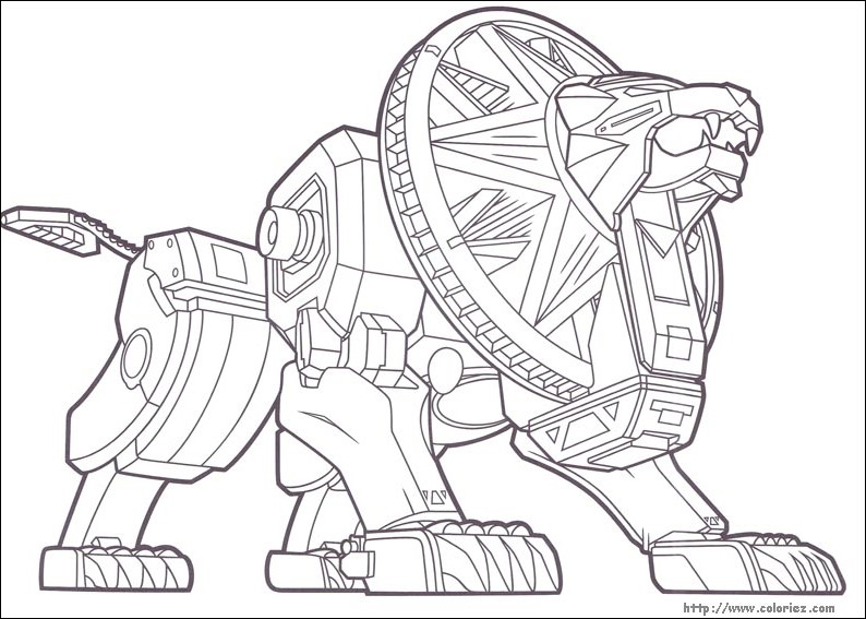 images   coloriage   power rangers