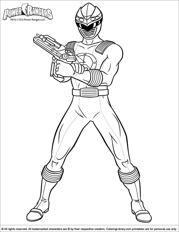 coloriage power ranger pirate