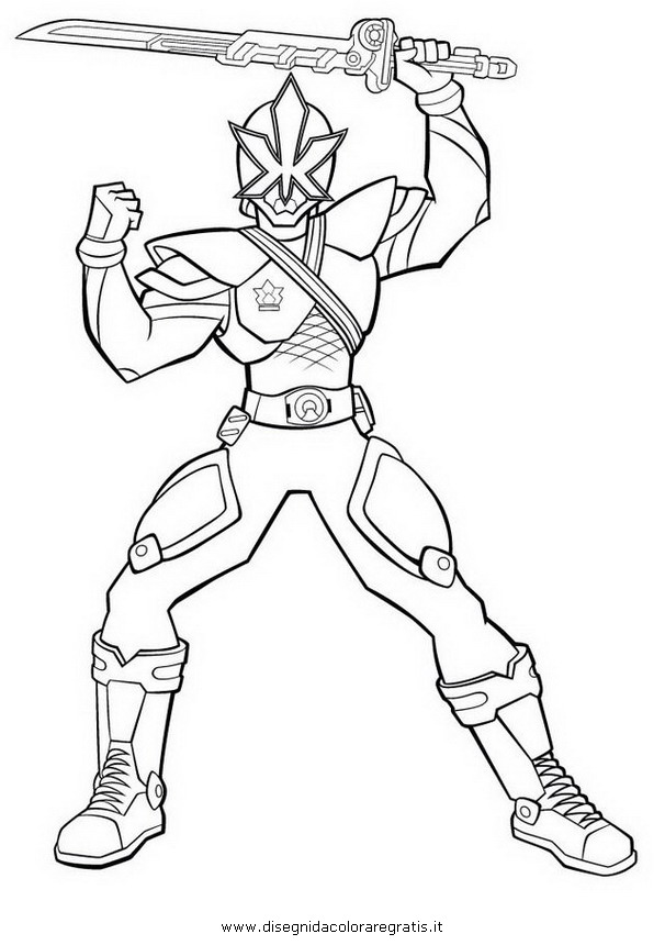 coloriage power rangers a imprimer