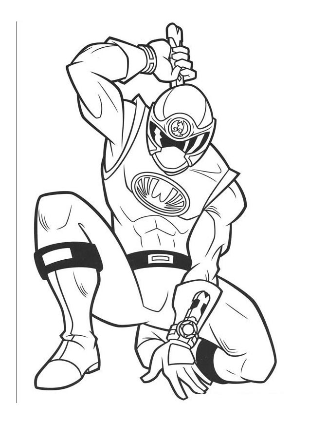 coloriage power rangers dans coloriage power rangers