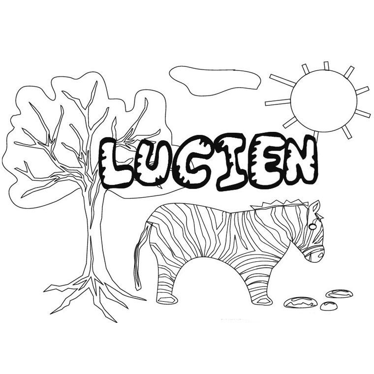 Bien connu 52 dessins de coloriage prénom à imprimer sur LaGuerche.com - Page 1 GX52