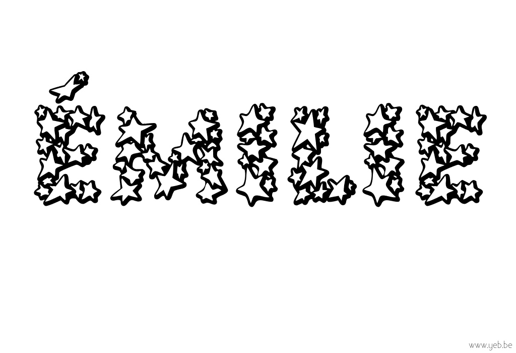 Connu 52 dessins de coloriage prénom à imprimer sur LaGuerche.com - Page 1 DG92