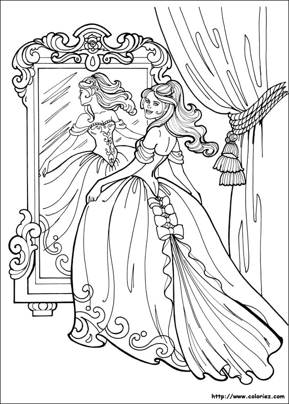 Coloriage Princesse Robe Mariee.Robe De Mariee Dessin Princesse