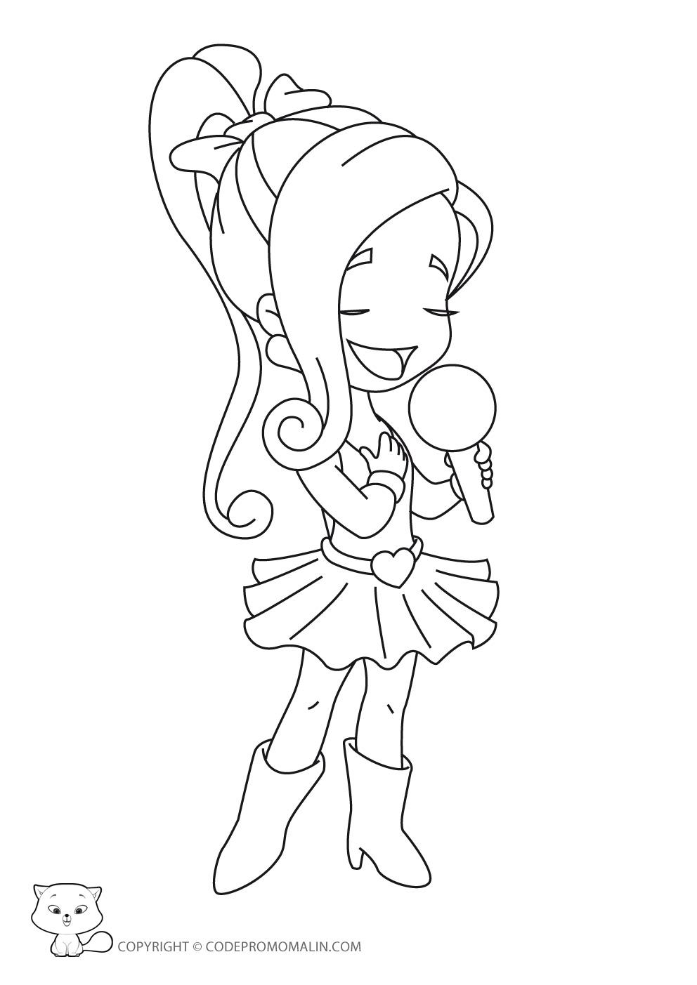 142 dessins de coloriage princesse imprimer sur - Coloriage image ...