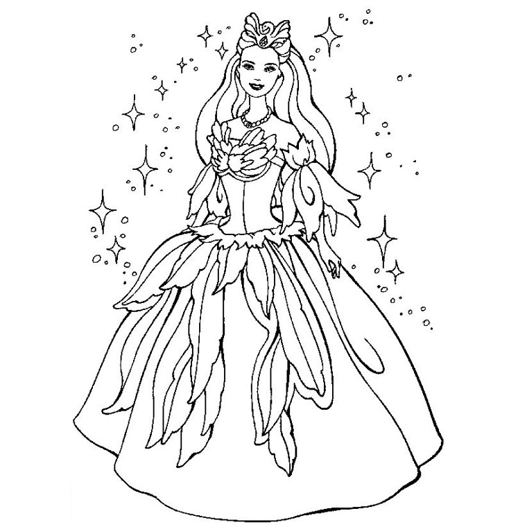 coloriage princesse gratuit dessin a imprimer 28