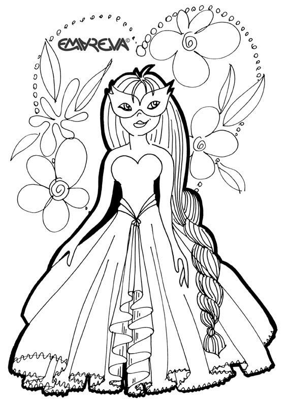 142 dessins de coloriage princesse imprimer sur - Image coloriage ...
