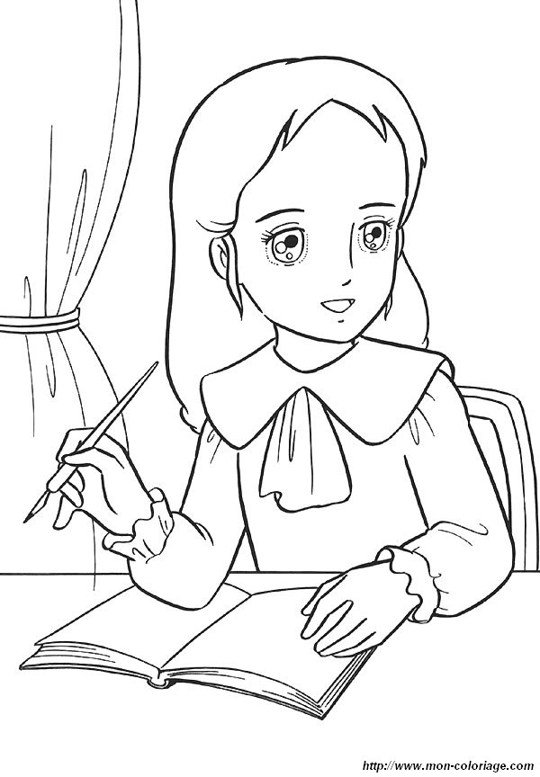 image 26147 coloriage princesse sarah gratuit - Coloriage Com