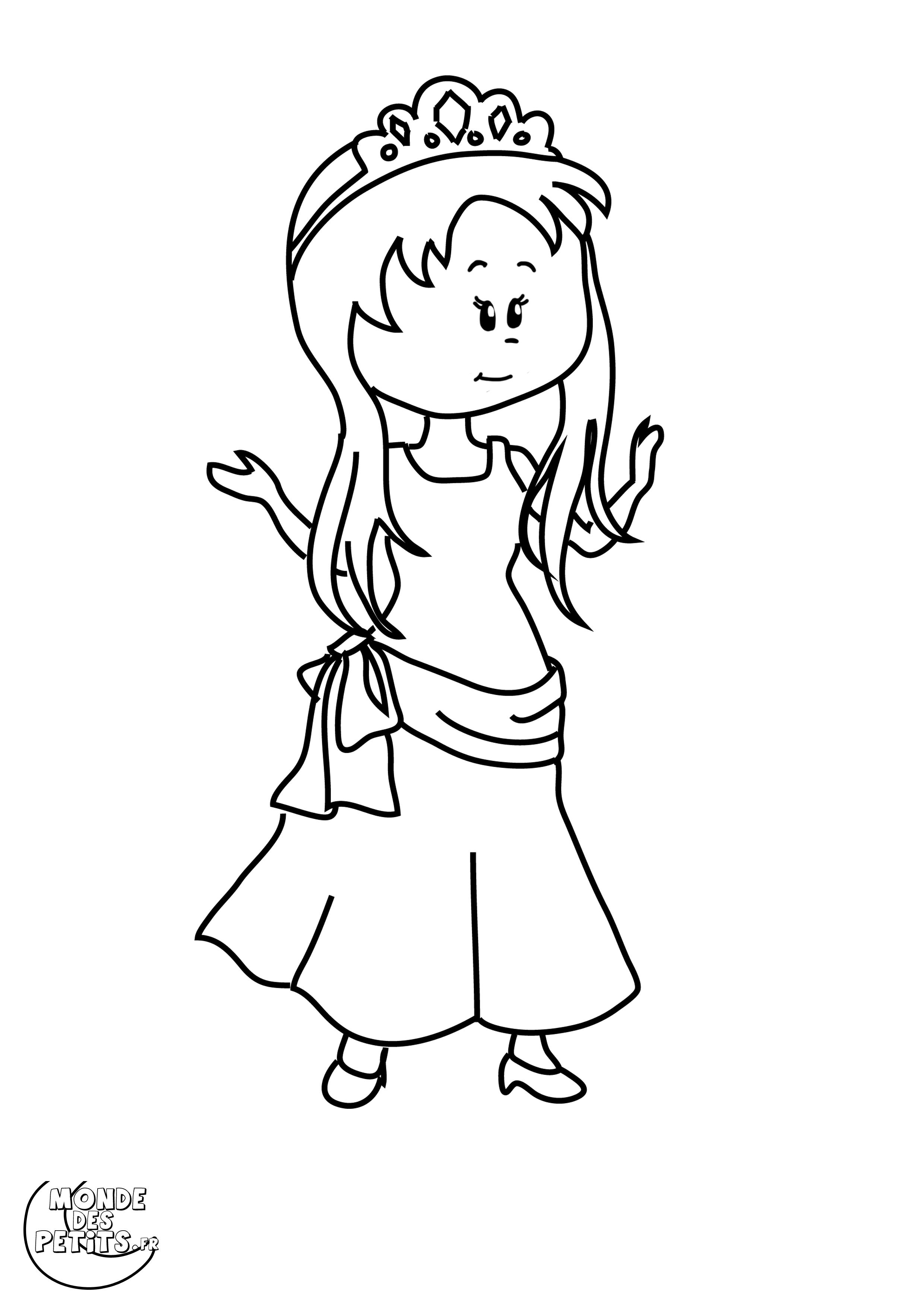 47 dessins de coloriage princesse sarah imprimer sur - Princesse sarha ...