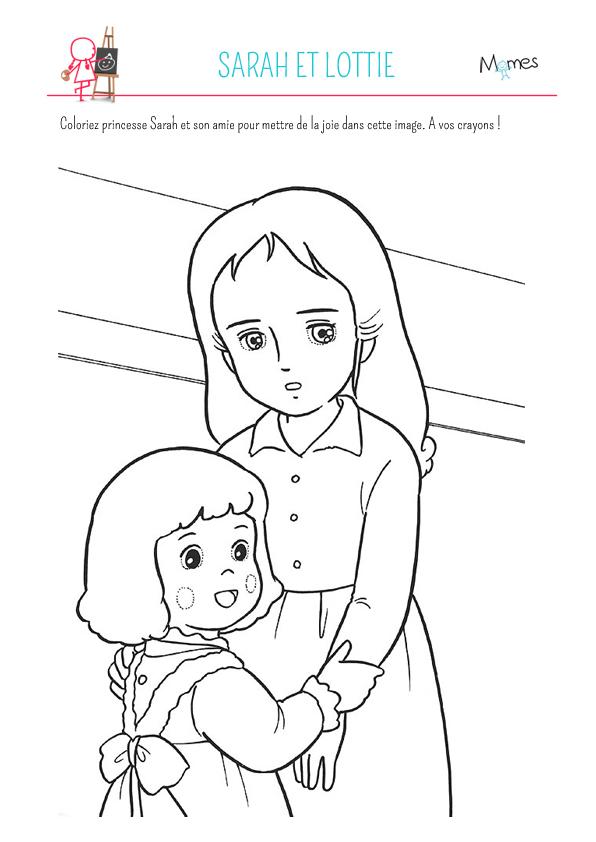 47 dessins de coloriage princesse sarah imprimer sur page 4 - Dessin anime de princesse sarah ...