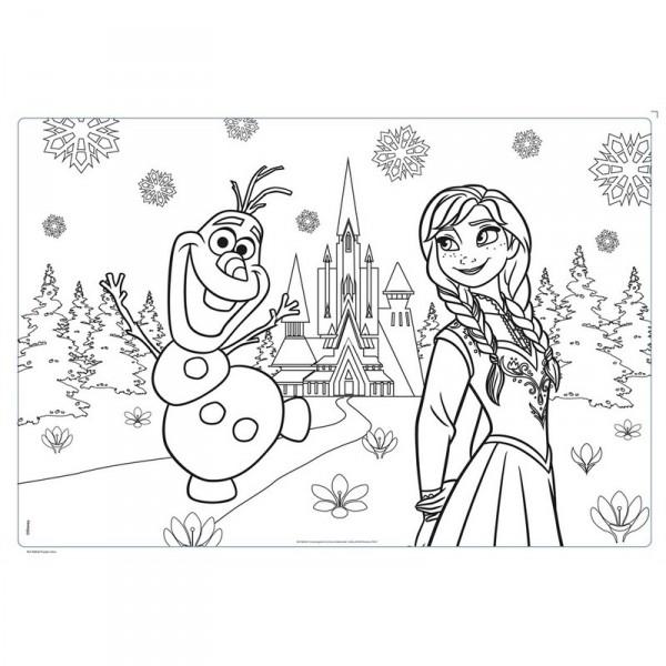 coloriage reine des neiges gratuit dessin a imprimer 129
