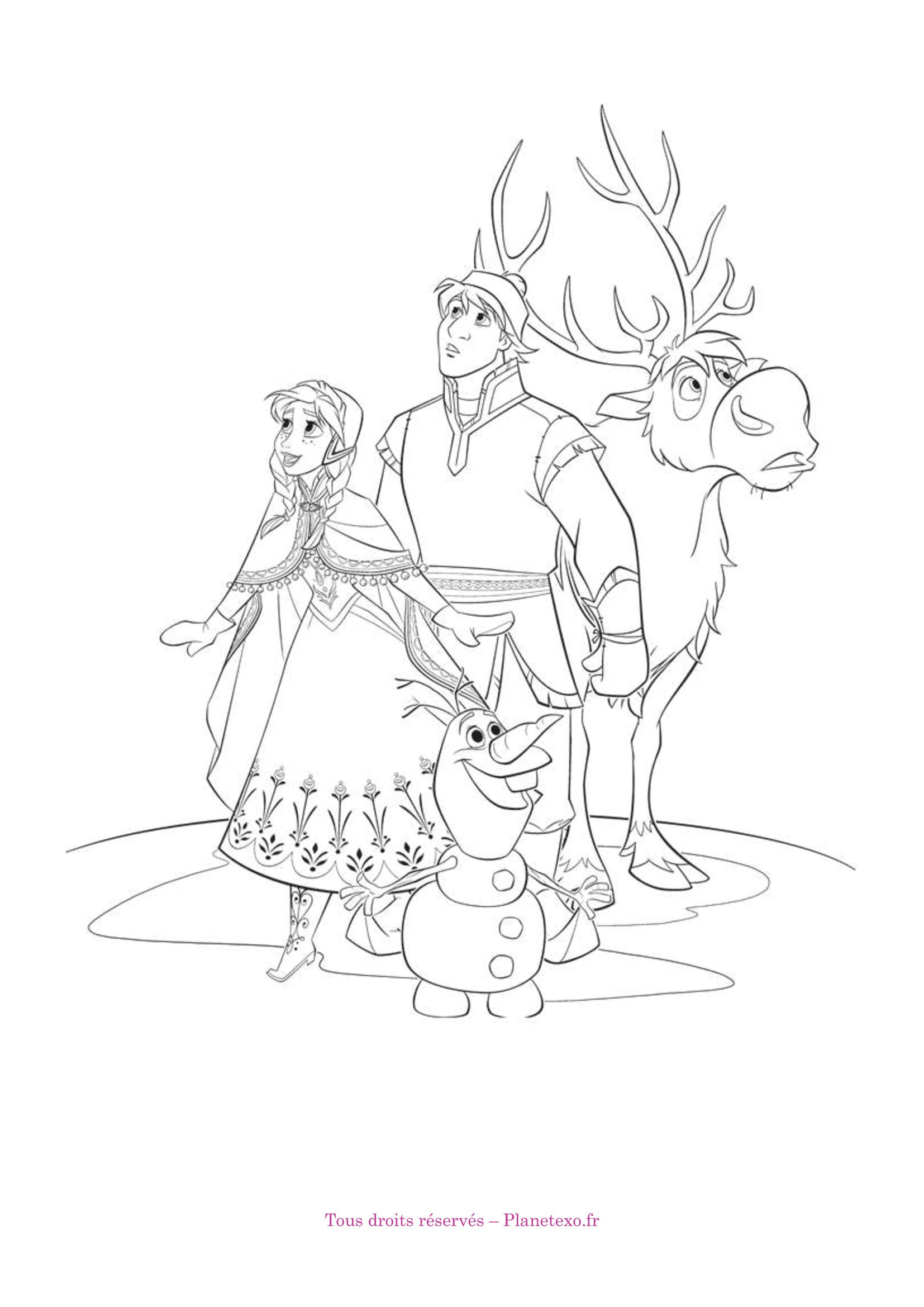 144 dessins de coloriage reine des neiges imprimer sur page 3 - Tout les jeux de la reine des neiges gratuit ...