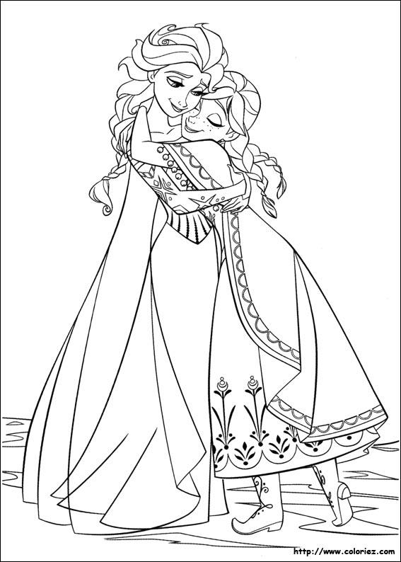 coloriage reine des neiges gratuit dessin a imprimer 17