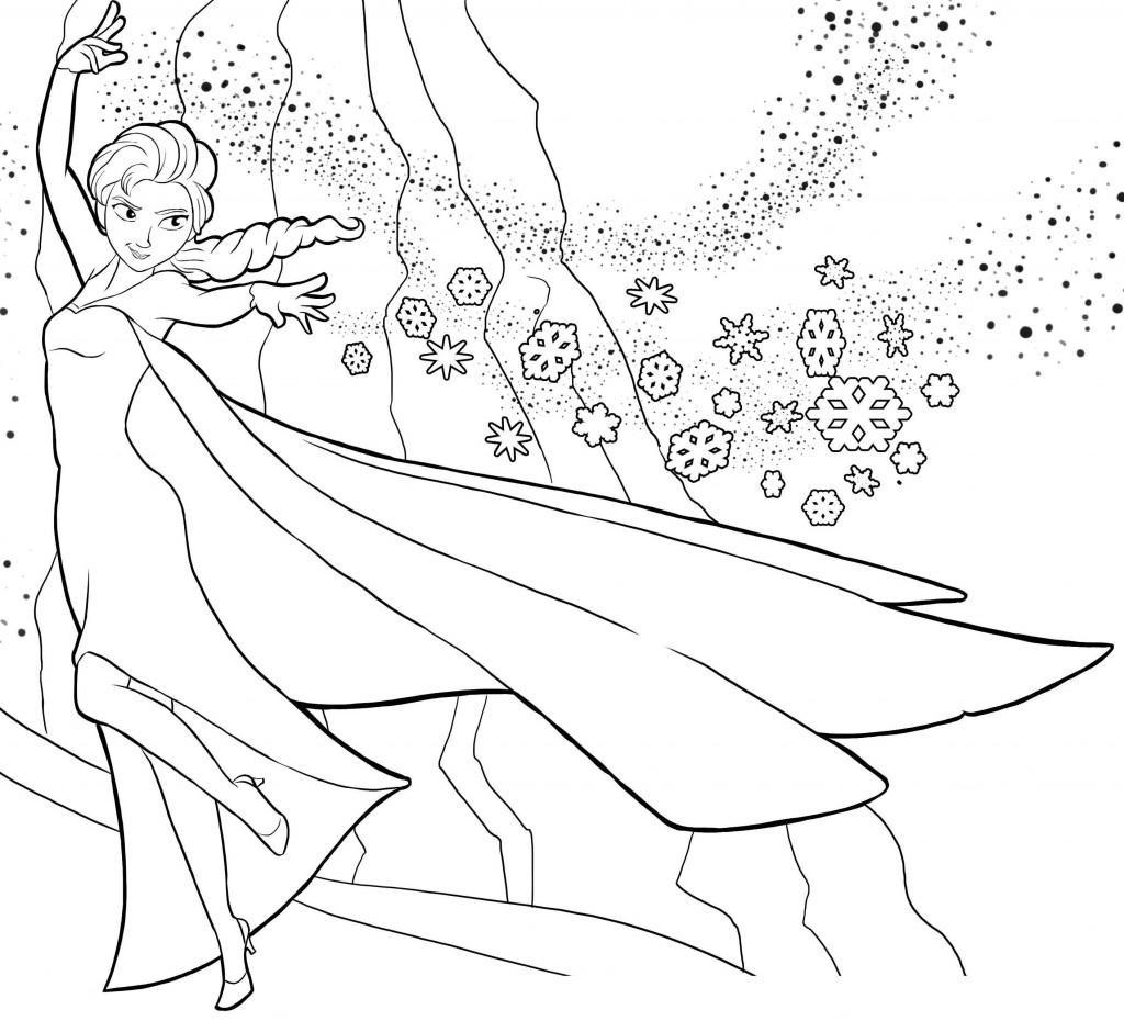 coloriage reine des neiges gratuit dessin a imprimer 189