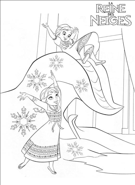 144 dessins de coloriage reine des neiges imprimer sur page 6 - La reine des neiges petite ...
