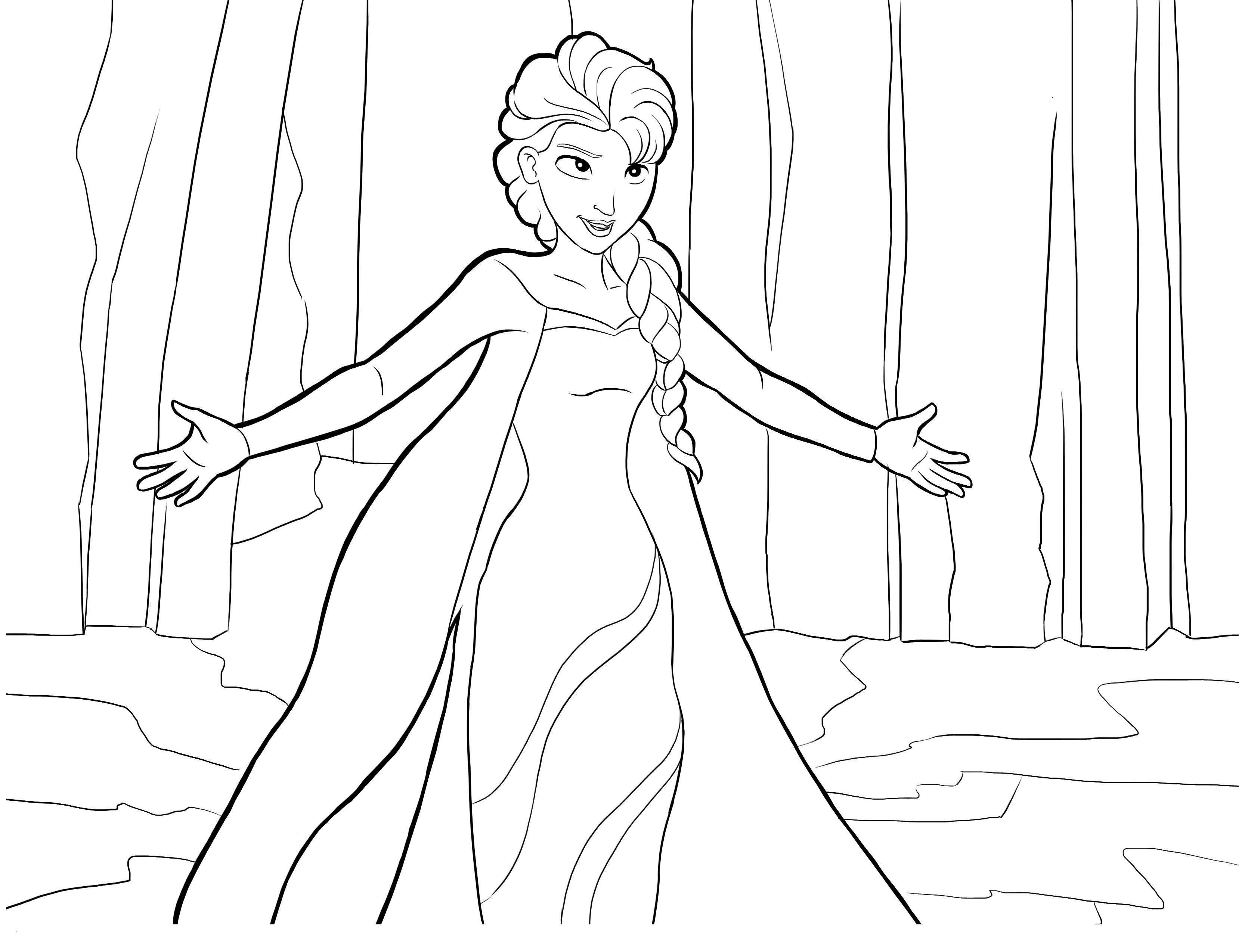 144 dessins de coloriage reine des neiges imprimer sur - Reine de neige 2 ...
