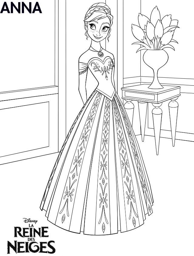 Top 144 dessins de coloriage reine des neiges à imprimer sur LaGuerche  ZU34