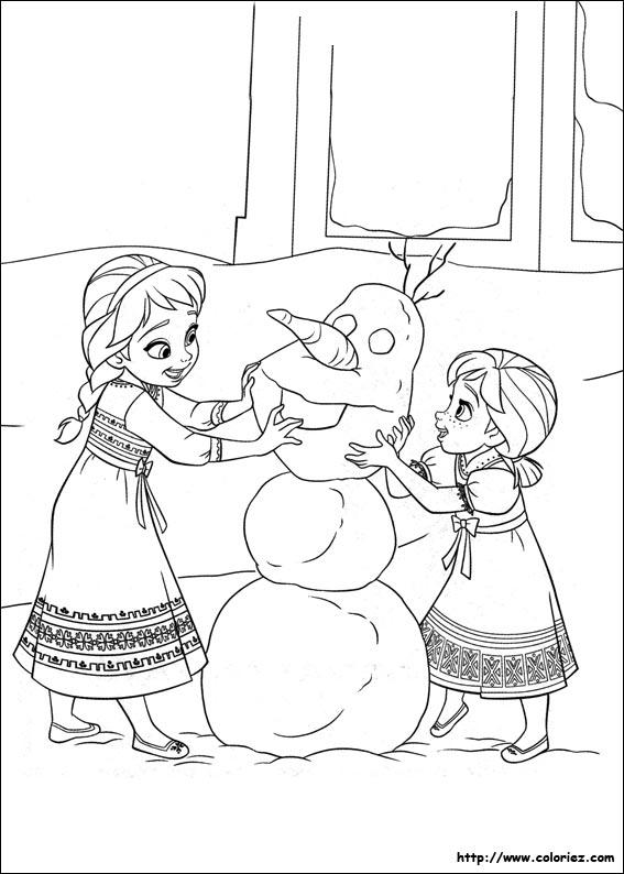 144 dessins de coloriage reine des neiges imprimer sur page 12 - Coloriage en ligne la reine des neiges ...
