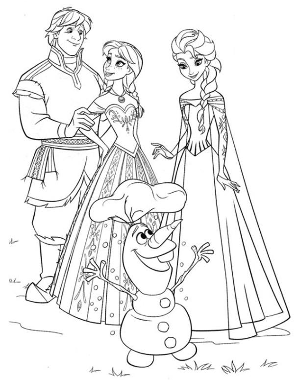 coloriage reine des neiges gratuit dessin a imprimer 71