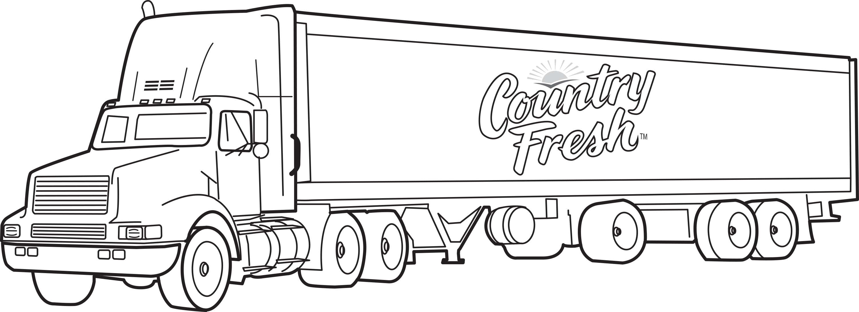 Sélection de dessins de coloriage remorque à imprimer sur ...