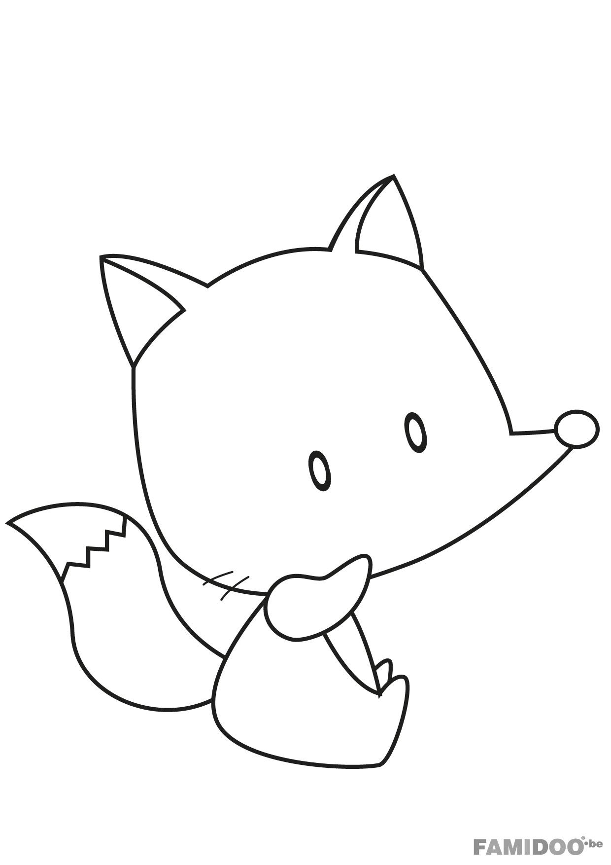 Élégant Coloriage à Imprimer Animaux Chien