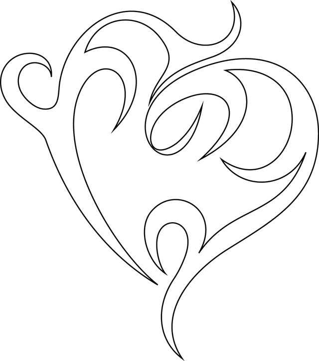63 dessins de coloriage rose et coeur imprimer sur page 2. Black Bedroom Furniture Sets. Home Design Ideas