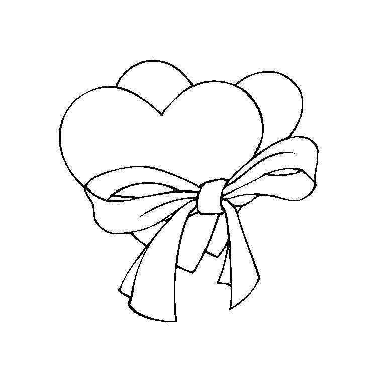 63 dessins de coloriage rose et coeur imprimer sur - Dessin du coeur humain ...