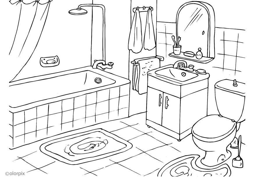 60 dessins de coloriage salle de bain à imprimer sur LaGuerche.com ...