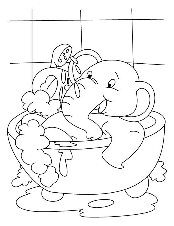 60 dessins de coloriage salle de bain imprimer sur for Dessin de salle de bain